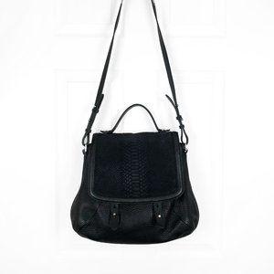 Mackage Carrie Leather Crossbody Messenger Bag